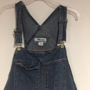 Old Navy Jeans - Old Navy denim overall shorts SZ XL